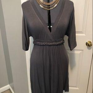 Grey, tshirt dress